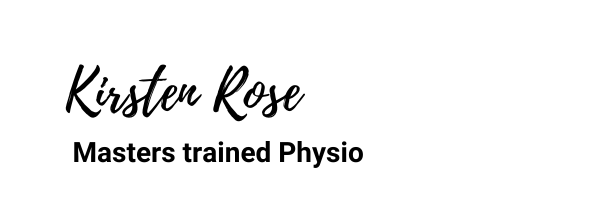 Kirsten Rose Master trained Physiotherapist